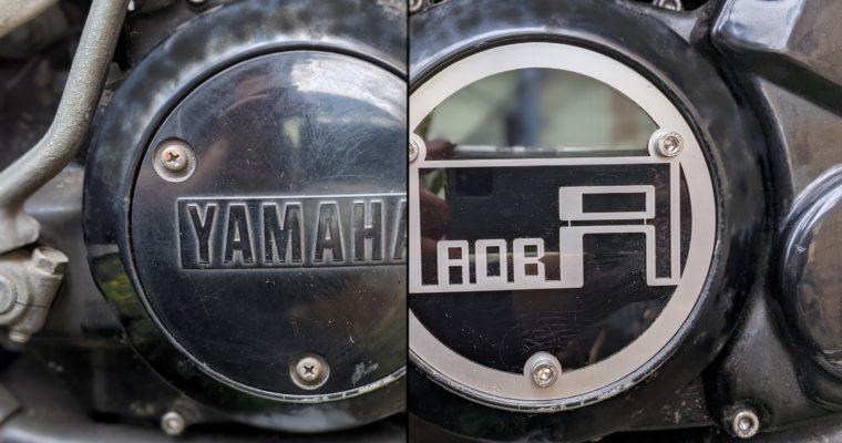 YAMAHA RZ250R RZ250 エンジンカバー オーダー製作