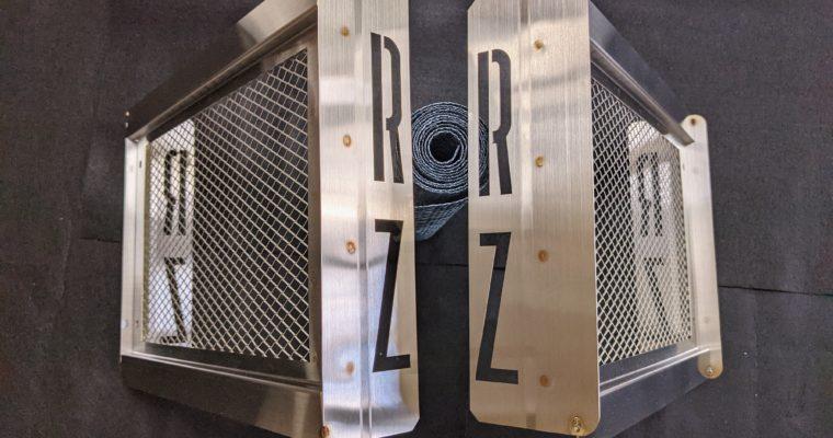 YAMAHA RZ250 ラジエーターカバーの製作③