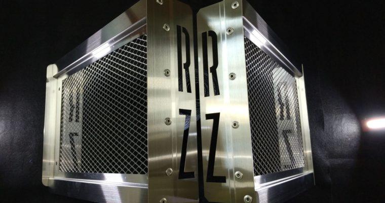 YAMAHA RZ250 ラジエーターカバーの製作④完