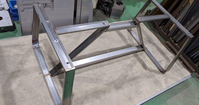 ダイニングテーブルの脚を製作~ついでに天板も製作~③