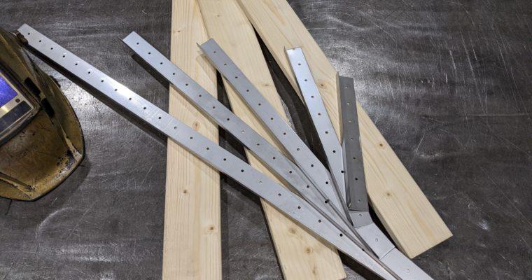 DIYで色々な用途で使えそうな 木工工作用ステーを製作してみました