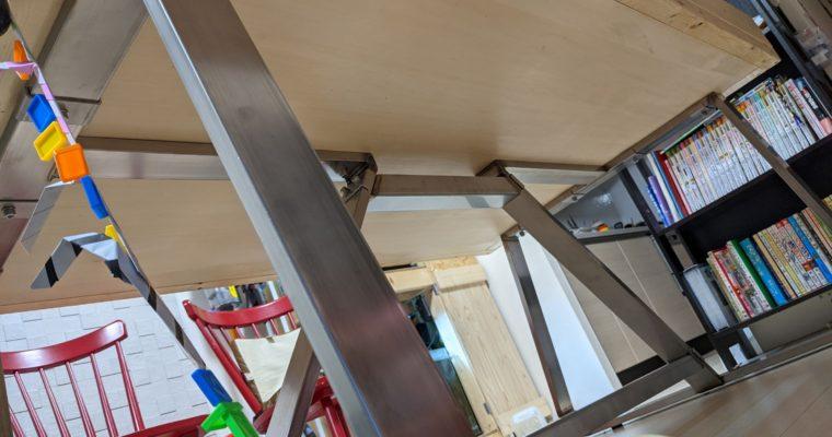 【AOBA DIY】ダイニングテーブルの脚を製作します~ついでに天板も製作~④