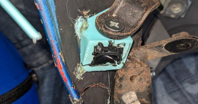 バイクのカウル(樹脂パーツ)の修繕・修理・補修をあの技術で! その2